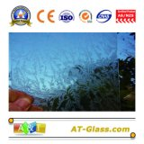 3-8mm Clear Patterned Glass Used for Window, Furniture, Bathroom, Building etc