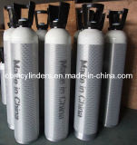 10L Aluminum Oxygen Cylinders with Handles