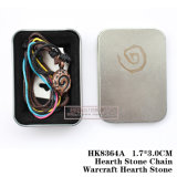 Hearth Stone Chain Warcraft Hearth Stone 3.0*1.7cm HK8364A/HK8364s