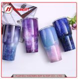 Creative Custom Colorful Starry Sky Vacuum Cup Car Double Layer 304 Stainless Steel Vacuum Auto Cup
