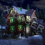 Moving Laser Projection Christmas Lights Christmas Landscape Lighting