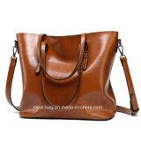 2018 Best Quality PU Leather Handbag Wholesale, Custom Lady Leather Handbag, Women Leather Handbag Tote Bag