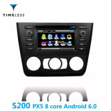 Timelesslong Android 6.0 S200 Platform 2DIN Car Radio DVD Player for BMW 1 Series (Auto & manual) with Built in Carplay (TID-W170)