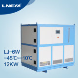 Industrial One Compressor Refrigeration Equipment Water Cooled Air Chiller