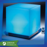 Colorful Lighted Acrylic LED Storage Box Display