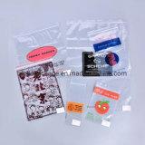 BOPP CPP colorful Printed LDPE Slider Zipper Bags for File Garment Packaging Bag