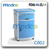 Good Price ABS Plastic Hospital Bedside Cabinet