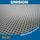 5m Windproof PVC Mesh Vinyl Digital Pringting Material for Outdoor Fence with Mesh Fabric