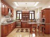 New Model European Style Wooden Kitchen Cabinet in China