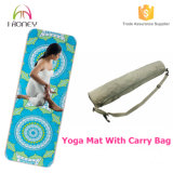 Professional Microfiber Rubber Yoga Mat Manufacturer with Competitive Price