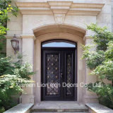America Standard Construction Real Estate Iron Double Entrance Door