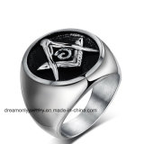 Top Selling Custom 316L Stainless Steel Masonic Ring Casting Mold Aniversary Championship Rings for Men