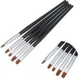 Wholesale 5PCS Private Label Nail UV Gel Brush Kit Supplies, Acrylic Nail Art Tool for Manicure