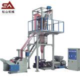 Wholesale Customisable Packaging Plastic Double Color Film Blowing Machine