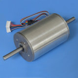24 V Low Voltage BLDC Motor with Round Gearbox