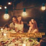 G40 Outdoor String Lights Solar Powered String Lights, Decorative Lighting for Home, Garden, Party, Festival