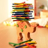 Baby Toys Educational Elephant/Camel Balancing/Building Blocks Wooden Toy Wood