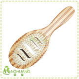 2 Color Bamboo Hair Brush with Nylon Pins