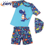 Boy Dinosaur Bathing Suit Beach Two-Piece Sunscreen Swimwear