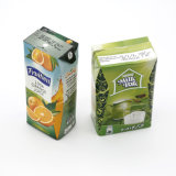 Carton Milk Outer Packing Box Beverage Htst Pasteurization and Aseptic Packaging Milk Box