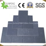 China Split Surface Natural Black Stone Slate Roofing