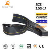 High Strength Motorcycle Inner Tube Natural Rubber Tube 3.00-17