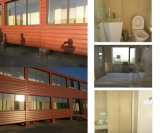 Two Story Container House for Hotel with Interior Equipment