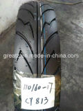 Motorcycle Parts, Non-Slip Motorcycle Tyre and Tube 110/60-17