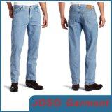 Men's Rugged Style Denim Jeans Denim Jean Trousers (JC3094)