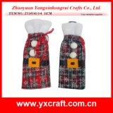 Christmas Decoration (ZY14Y41-3-4) Christmas Wine Bag Wholesale Xmas Gift Holiday Decoration