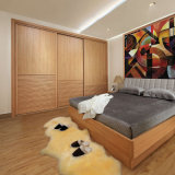 Oppein Classic Bedroom Furniture Melamine Wooden Wardrobe (YG11149)