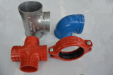 Ductile Iron Grooved Coupling and Fittings 12′′