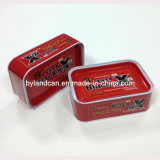 Metal Car Wax Tin Can 360g