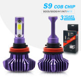 New Products All-in-One Heatsink 10000 Lumen S9 H4 LED Headlight Bulb for Cars