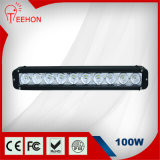 100W 4X4 Single Row LED Light Bar