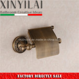 Bronze Bathroom Finish Toilet Paper Holder with Cover