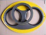Concrete Pump Wear Plate and Cutting Ring for Sermac Concrete Pump