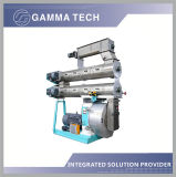 Ring Die Animal Feed Pellet Extruding Machine Production Plant