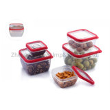 Plastic BPA Free Airtight Kitchen Use Food Container Lunch Box with Lids