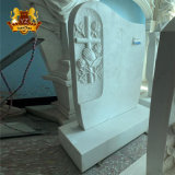 Hunan Marble Solemn Grave Yard Decor Tomb Stone
