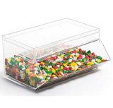1.5 Gallon Acrylic Candy Bin W/ Scoop Holder