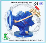 Angle Hydraulic Level Control Valve (100A) Diaphragm Actuated