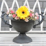 Flower Pot Stand Metal Vase Decoration Roman Style