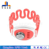 Waterproof Various Chip RFID Silicone Wristband for Prison Management