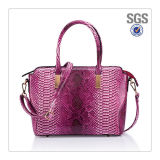 Newest Design PU Snake Leather High Quality Lady Handbag Factory Competitive Price Best Service