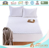 Extra Thick Fiberbed Hotel Polyester Synthetic Micro Fiber Mattress Pad