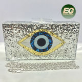 Popular Deisgn Acrylic Clutch Handbag Shining Evening Bags Women Party Purse Eb864