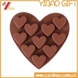 Custom Design 100% Food Grade Heart Shaped Silicone Cake Mold