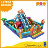 Big Child Ocean World Inflatable Playground with Mini Slide (AQ01787)