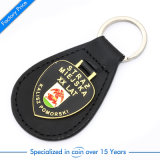 Top Sale Black Leather Car Key Ring/Chain